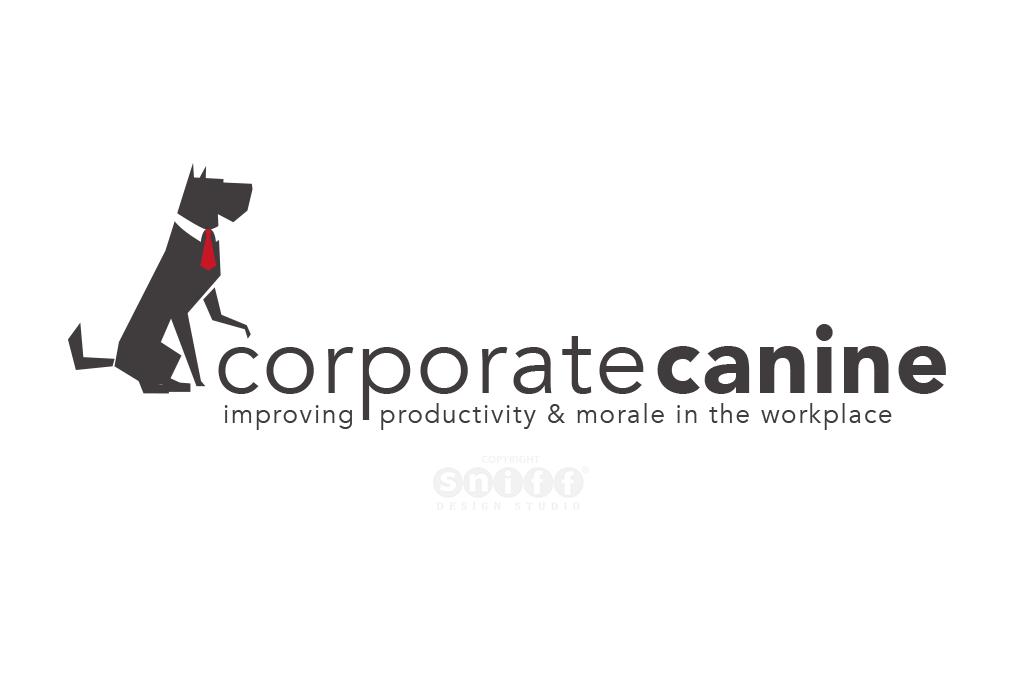 The Corporate Canine Logo & Website Design