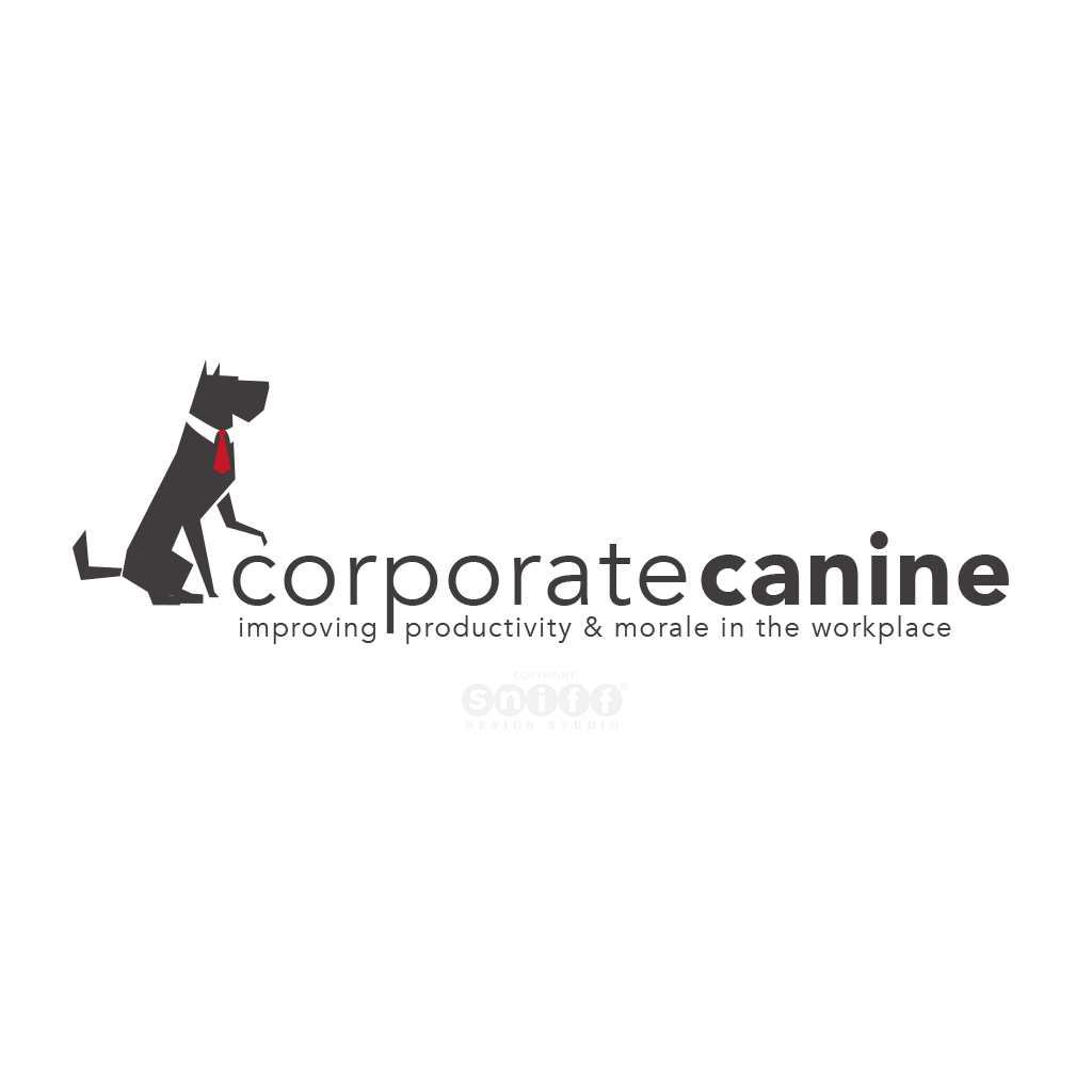 The Corporate Canine Pet Business Logo Design