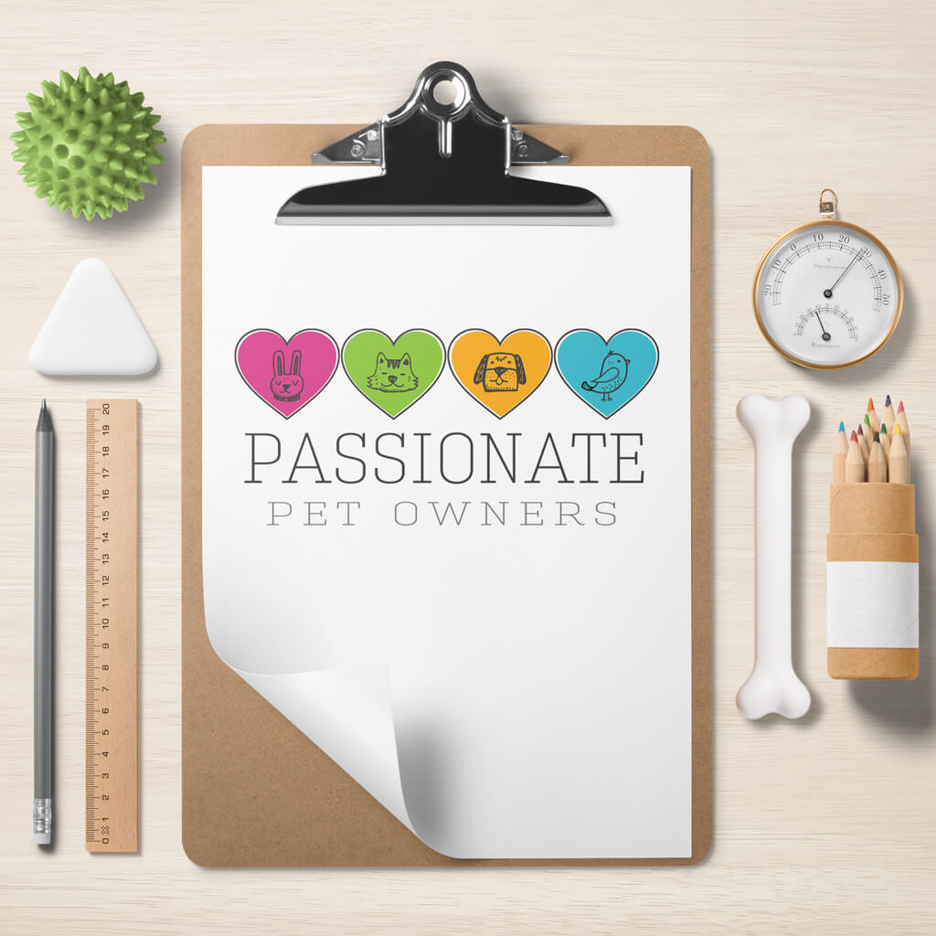 Passionate Pet Owners Pet Business Logo Design Showcase Image 1 by Sniff Design Studio