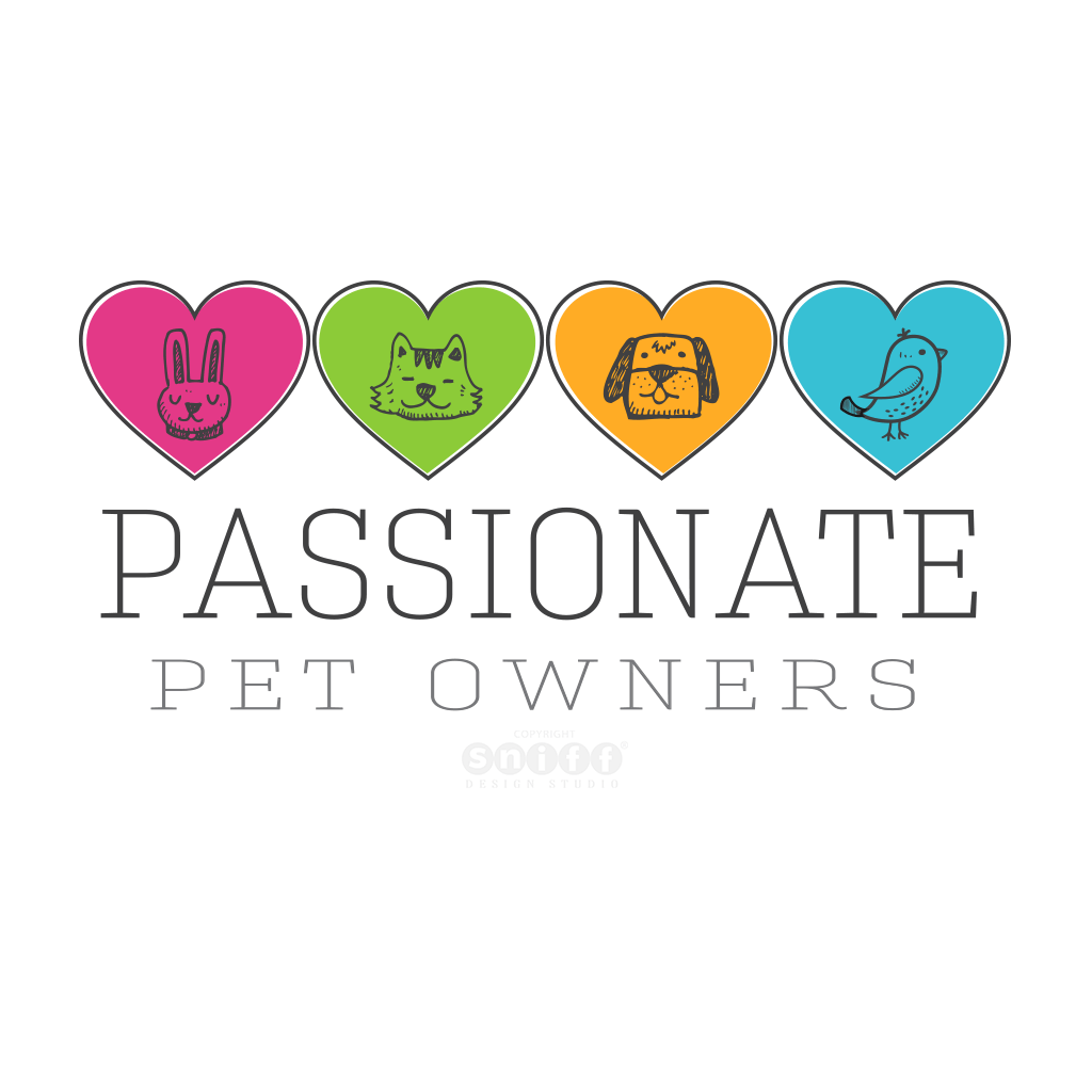 Passionate Pet Owners Custom Pet Business Logo Design
