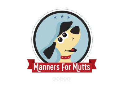 Manners For Mutts Dog Training Logo Design