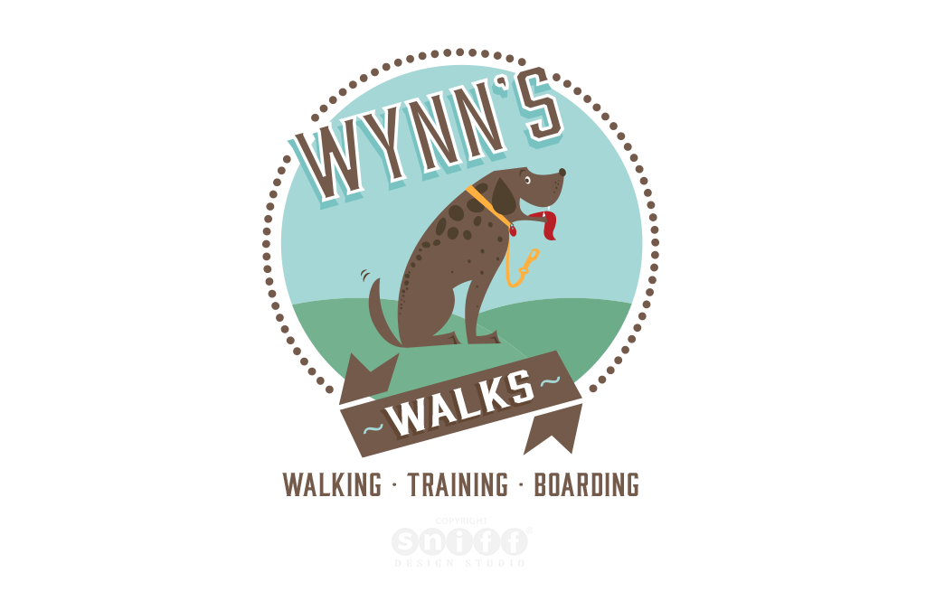 Wynn's Walk Logo Design