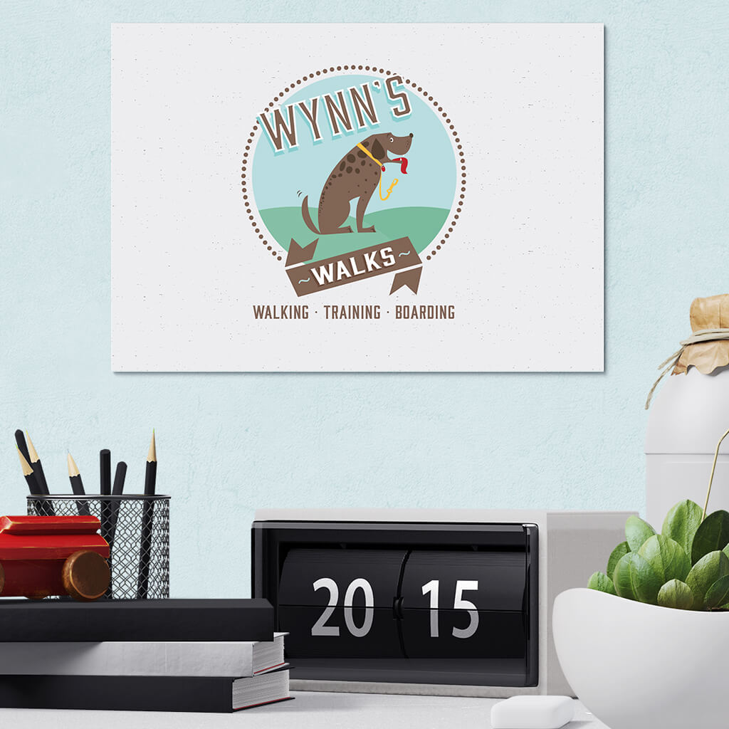 Wynn's Walks Pet Business Logo Design Showcase 2