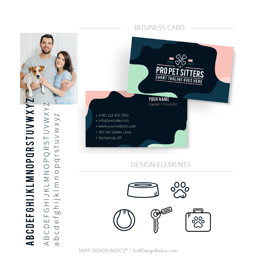 Done for you pet sitter pet business branding kit for sale
