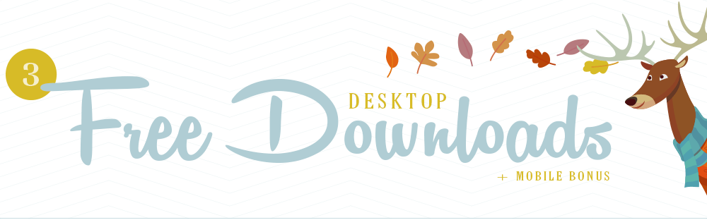 Freebie Friday – Fall Desktop Wallpaper Download