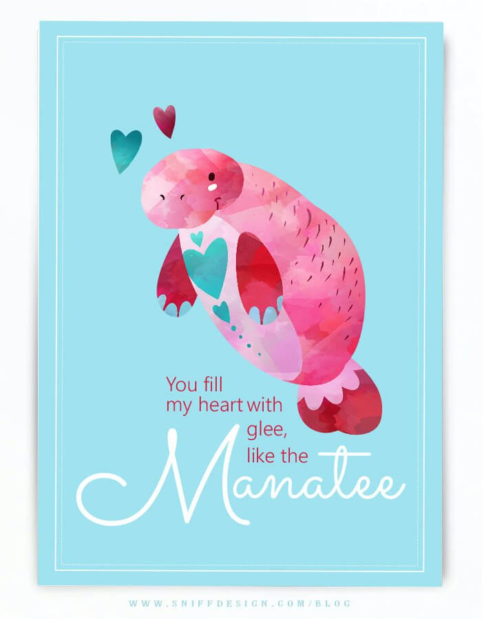 Free-manatee-themed-valentine-card-by-sniff-design-studio-dog-blog