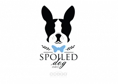 Pet Business Logo, Branding and Web Design for Spoiled Dog Treat