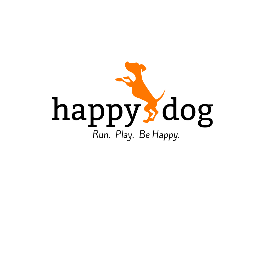 Happy Dog Pet Business Logo Design