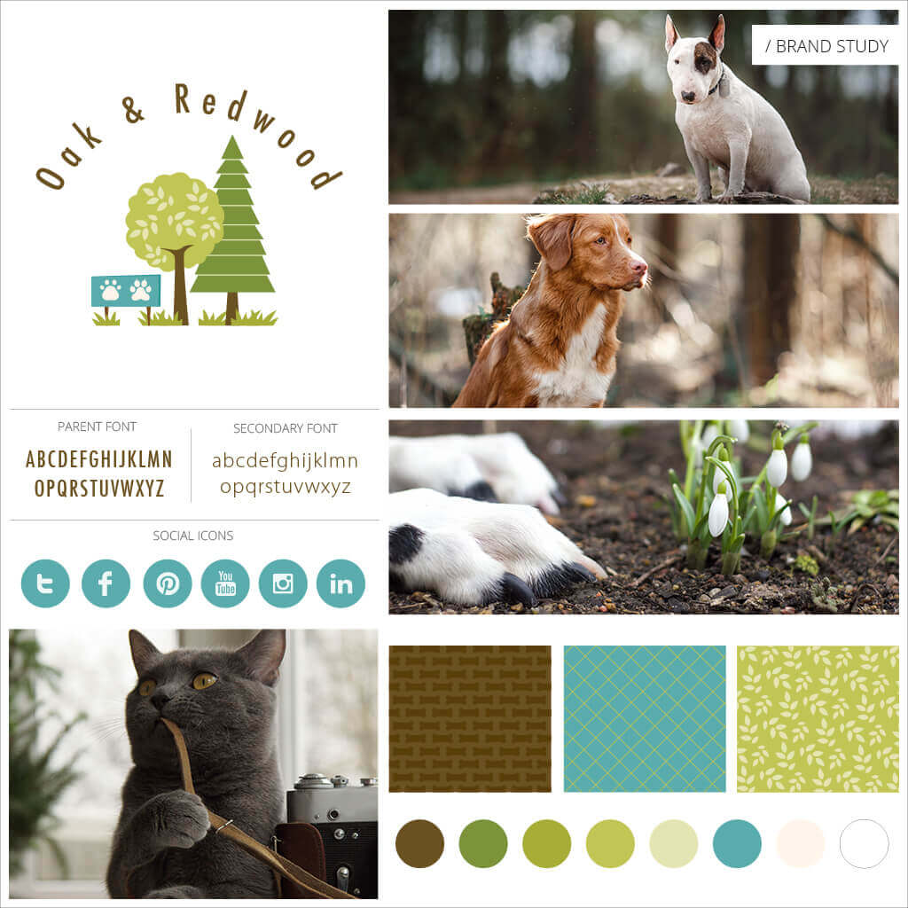 Oak-And-Redwood-Pet-Business-Brand-Study-by-Sniff-Design-Studio