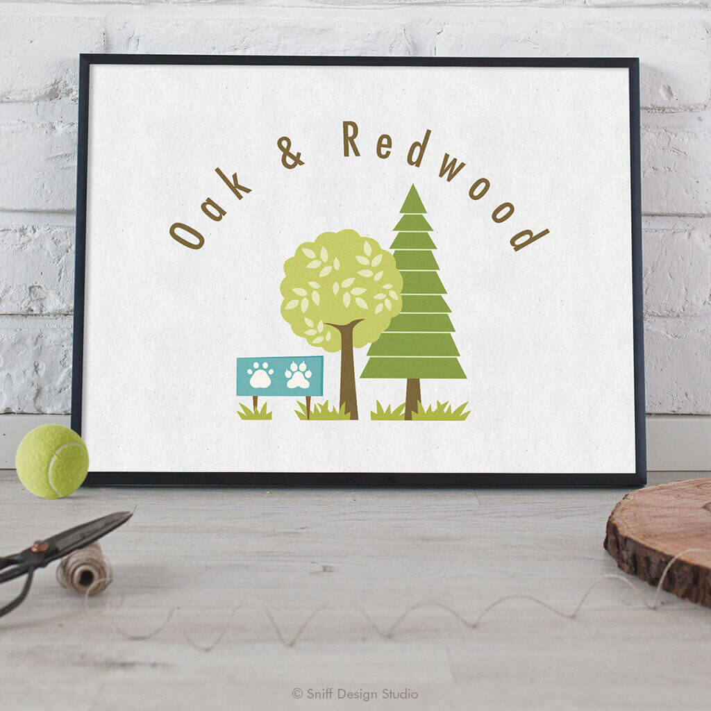 Oak-&-Redwood-Pet-Business-Logo-Design-by-Sniff-Design-Studio