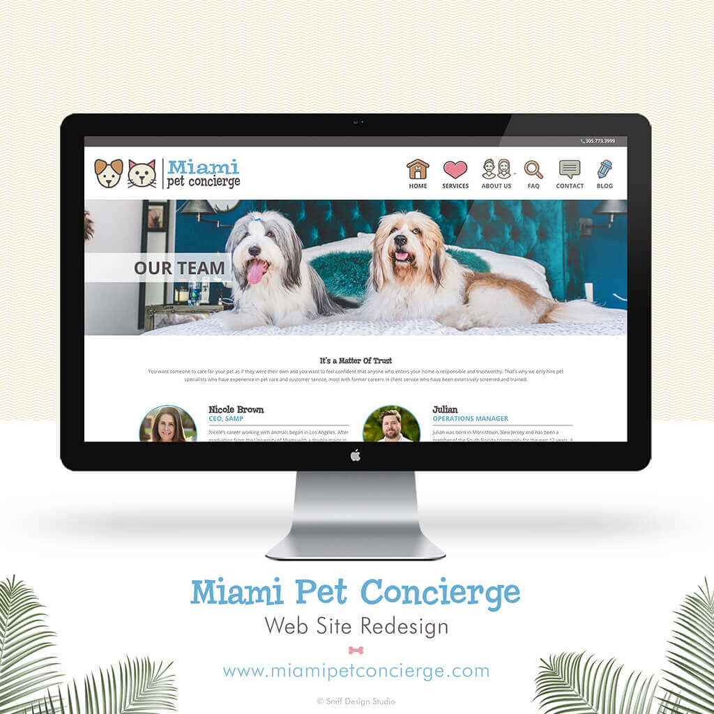 Miami-Pet-Concierge-Pet-Business-Website-Design-Showcase3-by-Sniff-Design-Studio