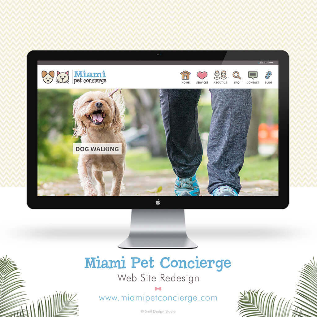 Miami-Pet-Concierge-Pet-Business-Website-Design-Showcase1-by-Sniff-Design-Studio