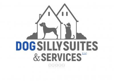 Dog Silly Suites & Services Pet Business Logo Design