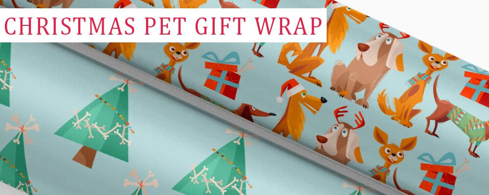 Free Printable Pet Christmas Gift Wrap