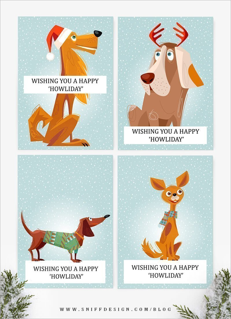 free-DIY-doggy-christmas-card-template-from-sniff-design-studio