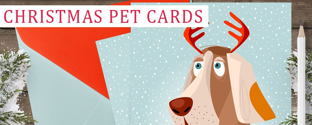Free Canine Christmas Card Template