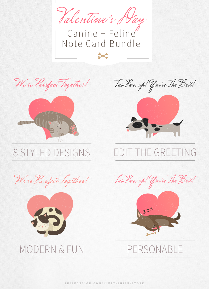 Valentine's-Day-Dog-and-Cat-Note-Card-Bundle-For-Pet-Business-Professionals-2