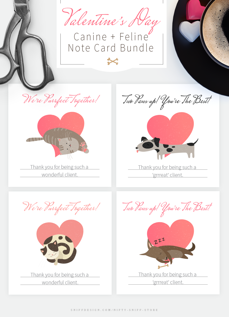 Valentine's-Day-Dog-and-Cat-Note-Card-Bundle-For-Pet-Business-Professionals-4