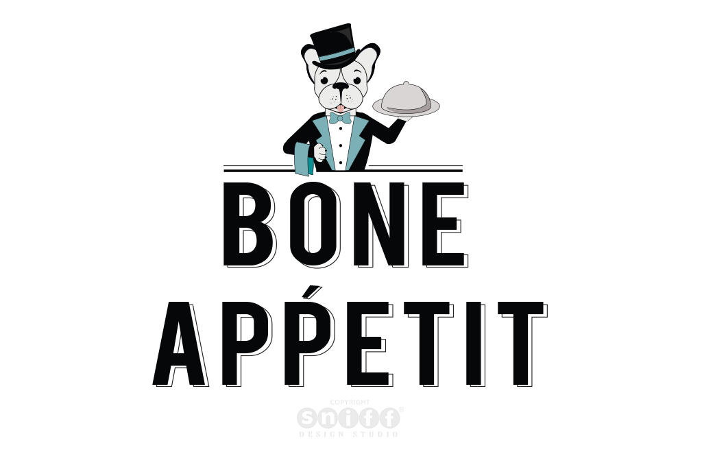 Bone Appetit – Pet Business Logo Design And Pet Branding
