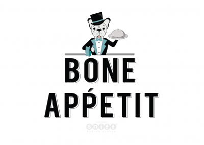 Pet Business Logo And Pet Branding for Bone Appetit