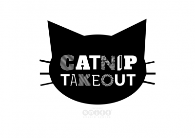 Pet Business Logo Design and Branding for Catnip Takeout