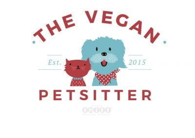 Pet Sitting Logo Design & Branding for The Vegan Pet Sitter