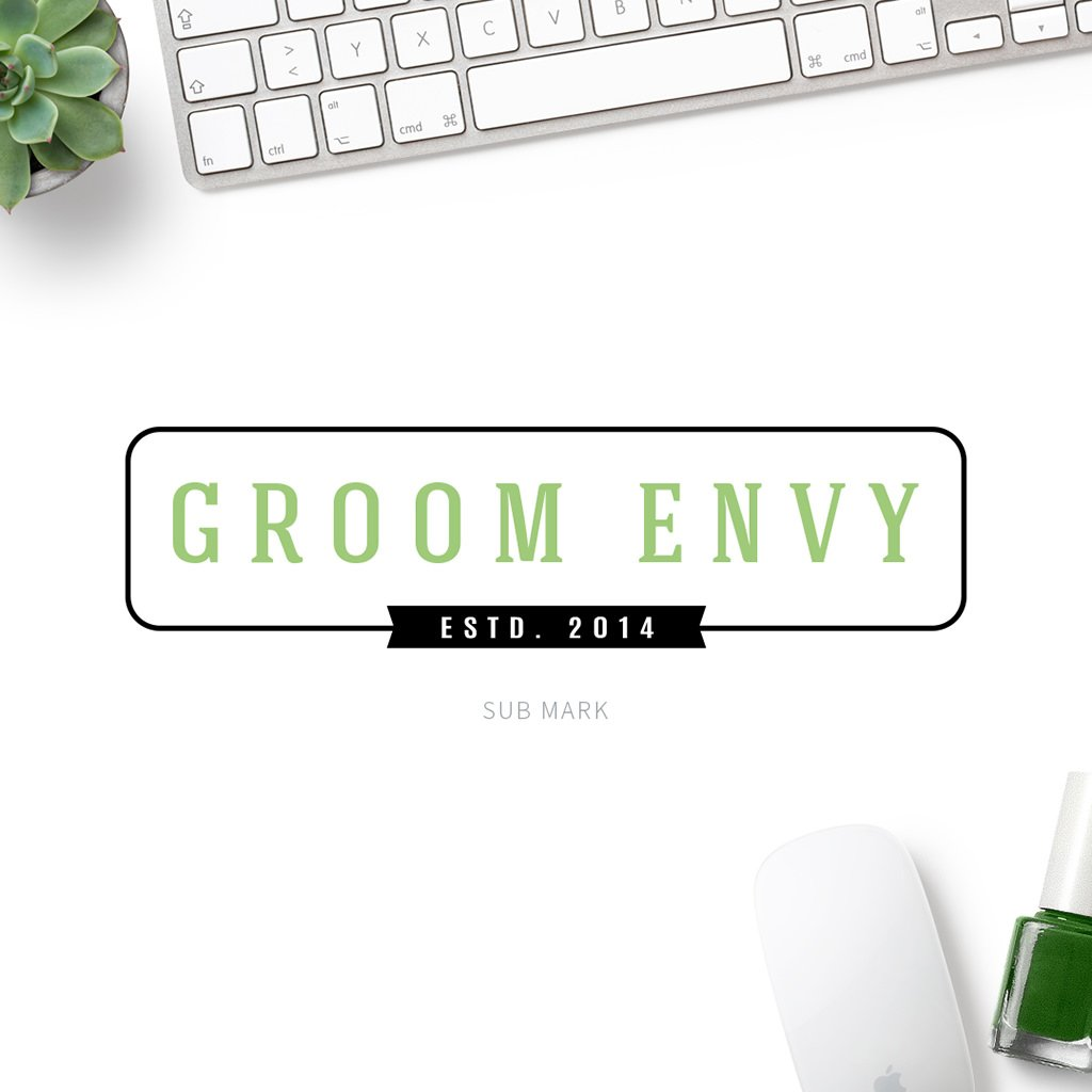 Groom Envy Pet Business sub mark design by Sniff Design Studio