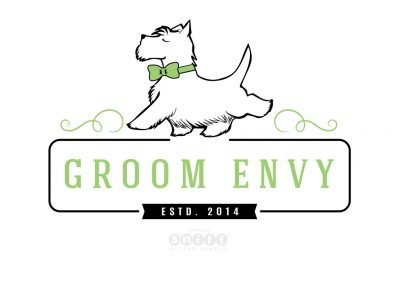 Pet Grooming Logo Design & Branding for Groom Envy
