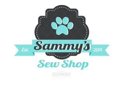Pet Business Logo Design & Branding for Sammy's Sew Shop