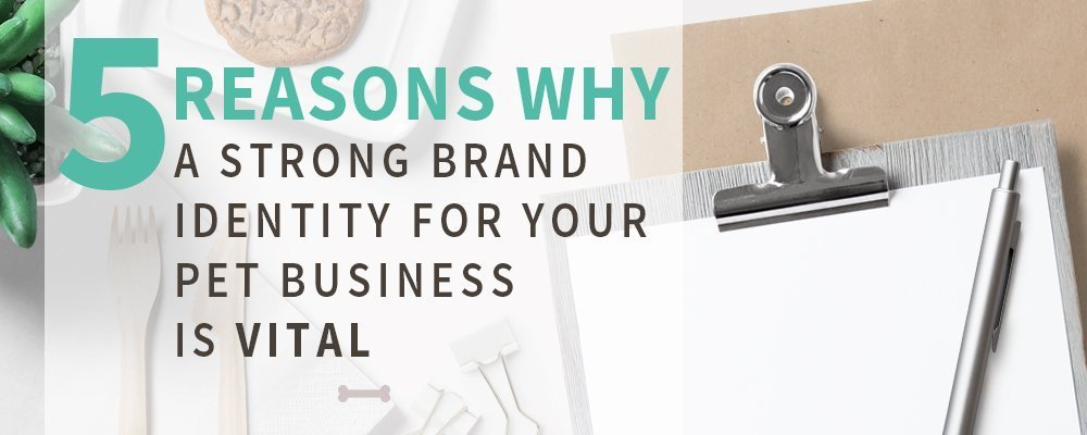 5 Reasons Why A Strong Brand Identity For Your Pet Business Is Vital