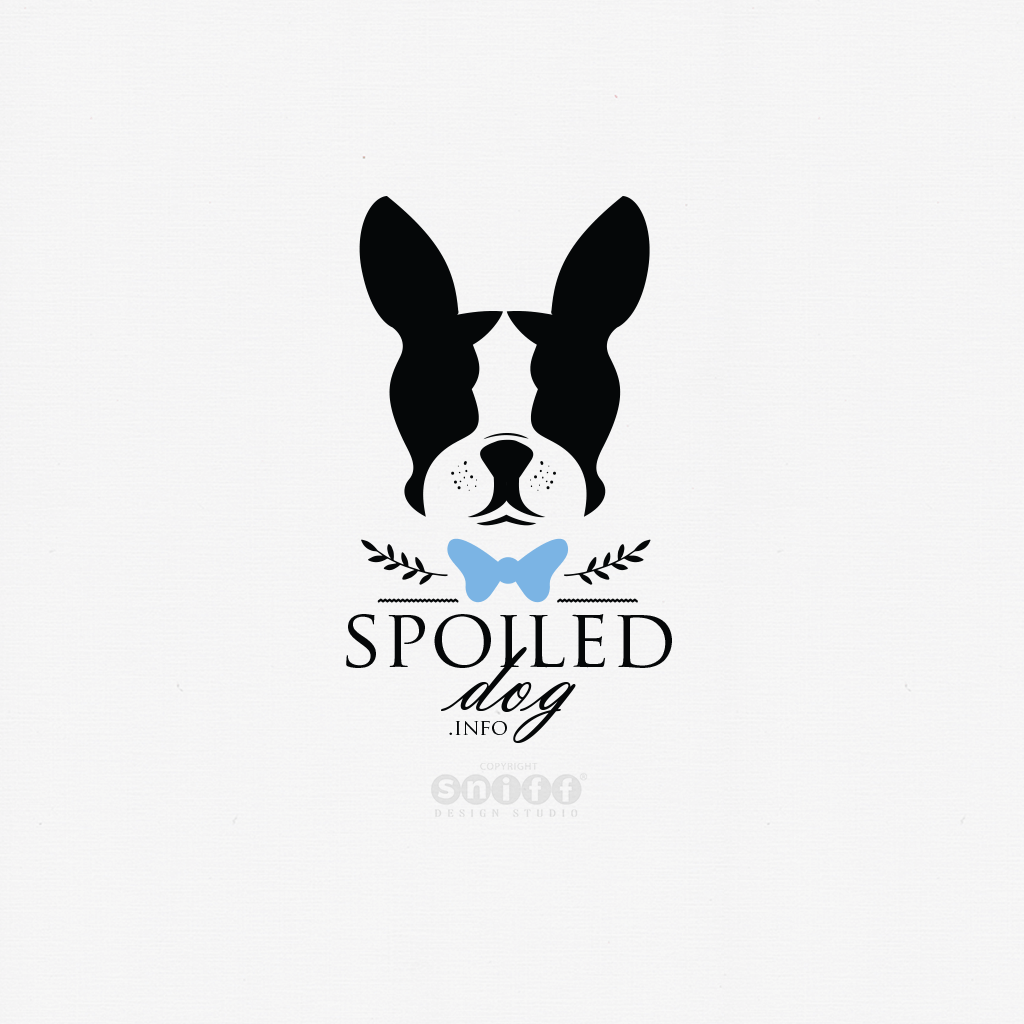 Spoiled-Dog-Pet-Treats-Business-Logo-Design-by-Sniff-Design-Studio-Textured