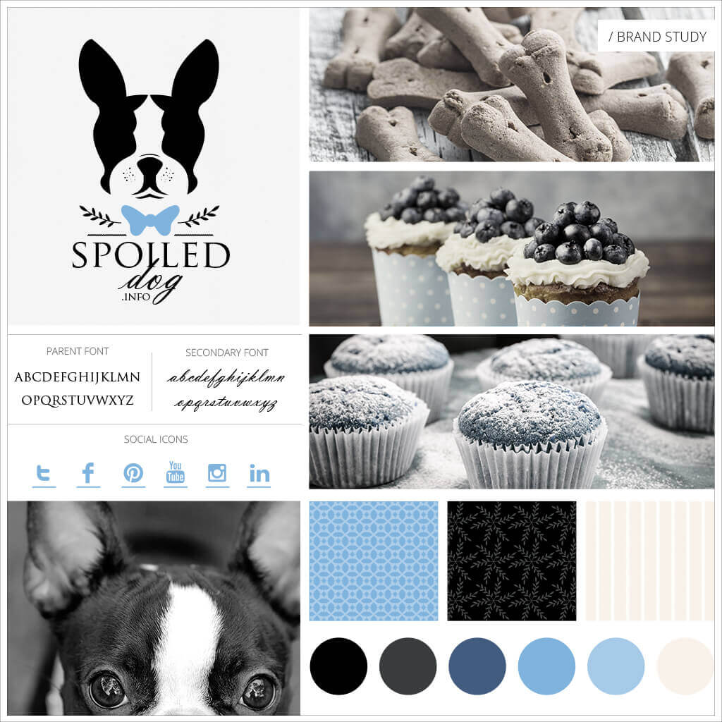 Spoiled Dog Pet Treats Pet Business Brand Study by Sniff Design Studio
