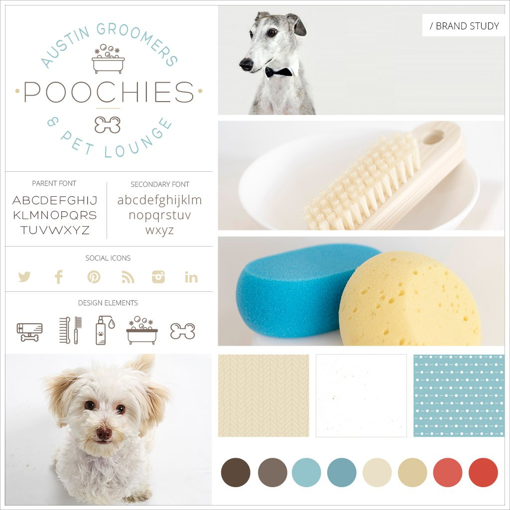 Poochies-Austin-Groomers-And-Pet-Lounge-Pet-Business-Branding-Mood-Board-by-Sniff-Design-Studio