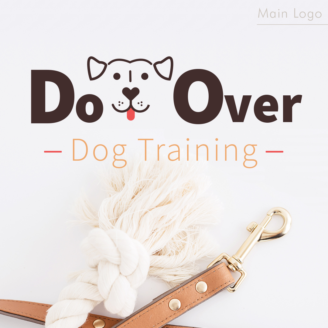 Dog Training Logo Design for Do Over Dog Training by Sniff Design Studio
