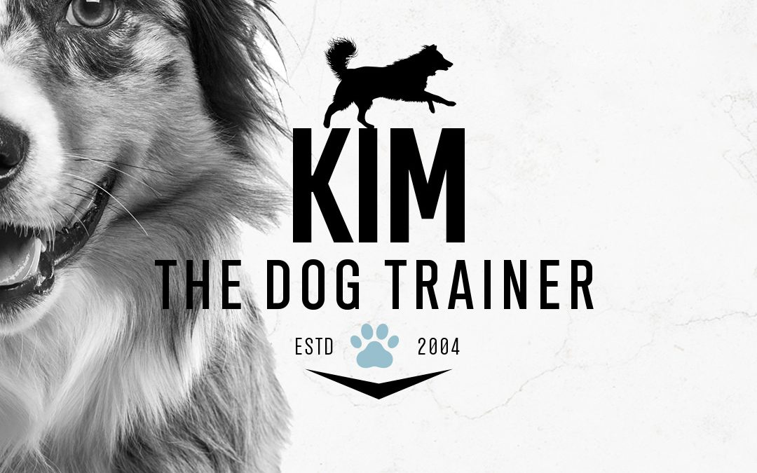 Dog Training Logo and Business Card Design for Kim The Dog Trainer