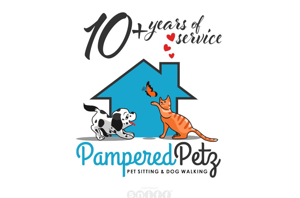 Pet Sitting Website Design for Pampered Petz