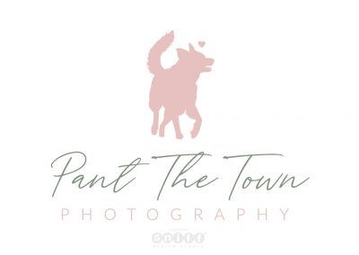 Pet Logo Design & Branding for Pant The Town Pet Photography