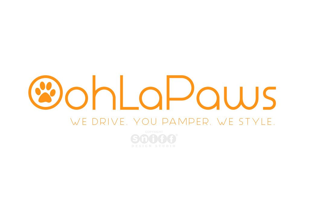 Pet Logo Design & Branding for OohLaPaws Grooming