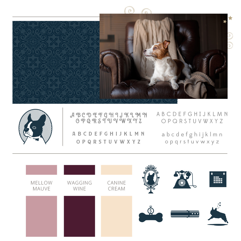 Pet Branding Design for Queen Anne Dog Walking