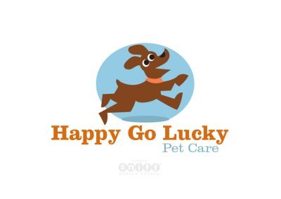 Pet Sitting Logo Design, Branding and Website Design for Happy Go Lucky Pet Care